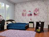 Кровать Двухспальная с Ортопедическим Матрасом