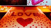 Лепестки роз 100 шт для свадьбы, фотосессий .свадебные искусственные из г. Борисполь