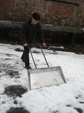 Лопата для снега широкая Киев