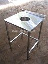Стол производственный для сбора отходов СПО 600х600х850