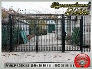 Кованые решетки, заборы, калитки, ворота, ограждения. Мариуполь