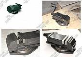 Купить тиски станочные машинные поворотные 80, 100, 125, 160, 200мм