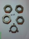 Гайка М22, м24, м27, м30, м33 низкая Din 936 из г. Запорожье