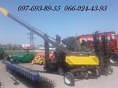 Зернометатель /зернопогрузчик погрузчик зерна Булат -120
