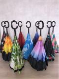 Зонт обратный Reverse Umbrella ветрозащитный зонт обратного раскрытия из г. Харьков