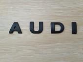 Металлические буквы AUDI на кузов авто