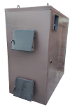 Твердотопливный пиролизный котел воздушного отопления Kfpv-150 от про из г. Кременчуг