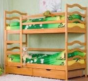 С ящиками и матрасами двухъярусная кровать София. доставка из г.Киев