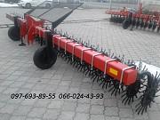 Борона ротационная Мрн-6 на цельной раме с рабочими колесами Источник из г. Днепр